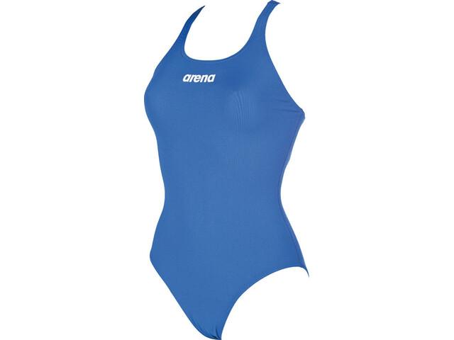 80c98f2e arena Solid Swim Pro Badedrakt Dame royal-white   Gode tilbud hos ...